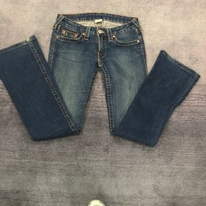 True Religion Emily Low Rise Jean /28